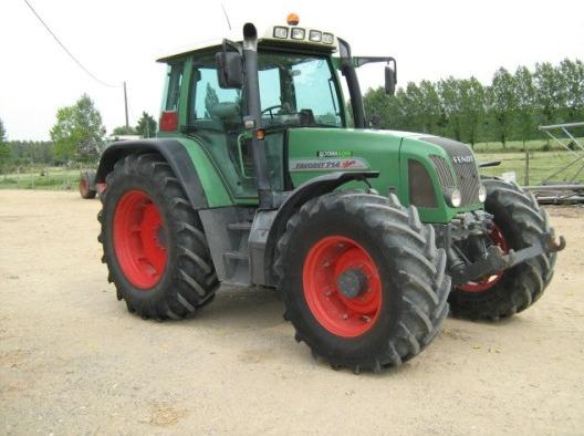 tracteur agricole fendt 714. Black Bedroom Furniture Sets. Home Design Ideas