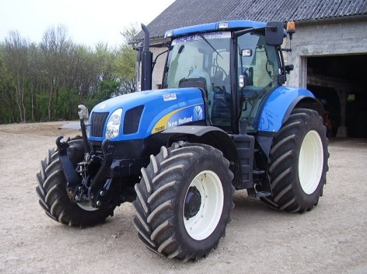 tracteur agricole   new holland t 6080